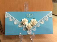 Конверт для денежного подарка, Свадебный фотоальбом ручной работы, свадебные открытки ручной работы, пригласительные на свадьбу ручной работы, купить в интернет-магазине handmade, sunbeads