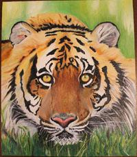 Мой царь, Животные в картинах, панно и картины, панно на заказ, живопись на заказ, купить в интернет-магазине handmade, sunbeads