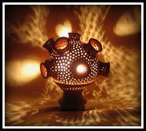 светильник, Декор светильников