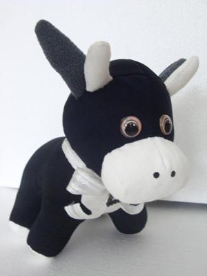 Бычок Борька, Мягкие игрушки животные, куклы и игрушки ручной работы