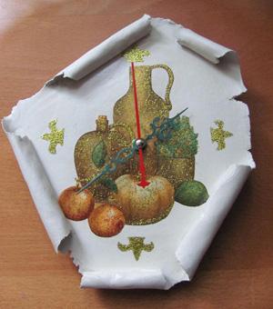 Часы от TatOlya, Сувениры ручной работы