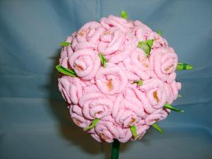 Дерево счастья. Топиарий Розовое дерево, Изготовление искусственных деревьев, цветы ручной работы