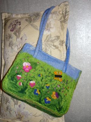 Сумка «Летняя», Женские сумки ручной работы