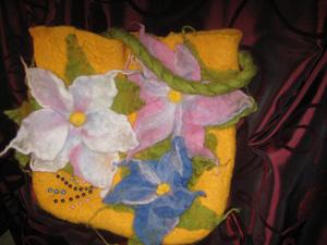 сумка валяная, Женские сумки ручной работы