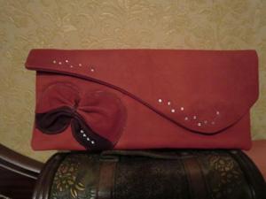 клатч «Бантик», Женские сумки ручной работы