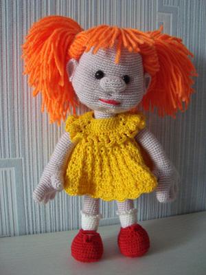 Кукла «Рыжая»