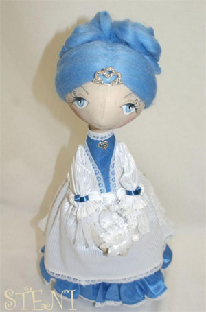 Интерьерная кукла «Анабель»